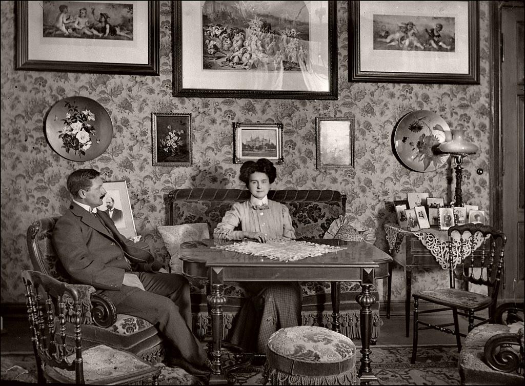 surprising 1960s sitcom living room | Victorian-Edwardian Living Room: 36 Interesting Vintage ...