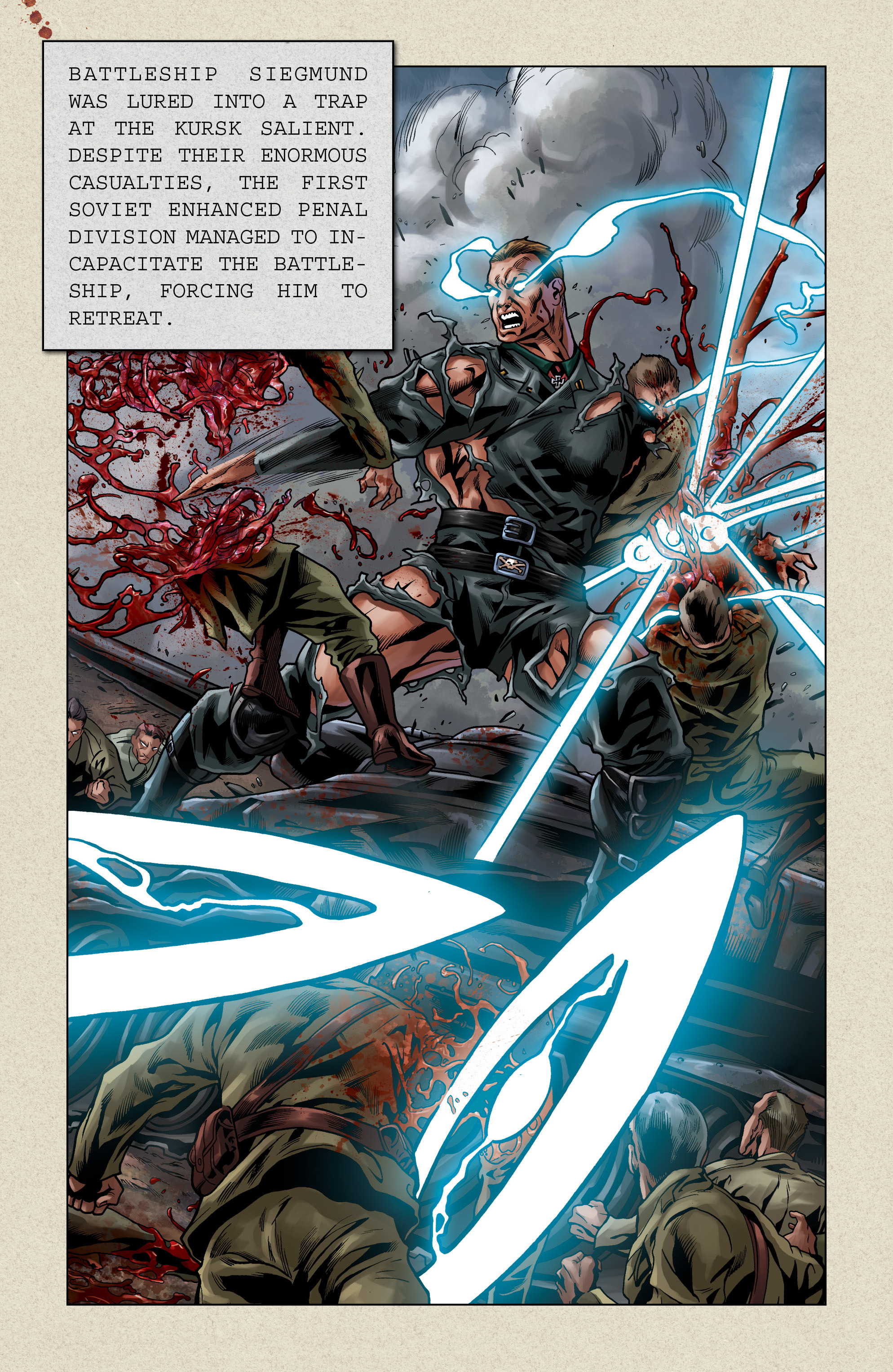 Read online Uber comic -  Issue # _FCBD - The First Cycle - 27