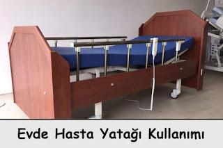 evde hasta yatağı kullanımı