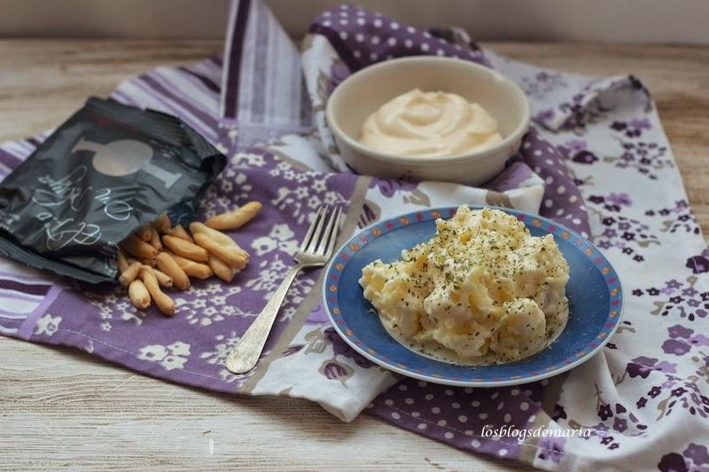 Patatas alioli en Thermomix