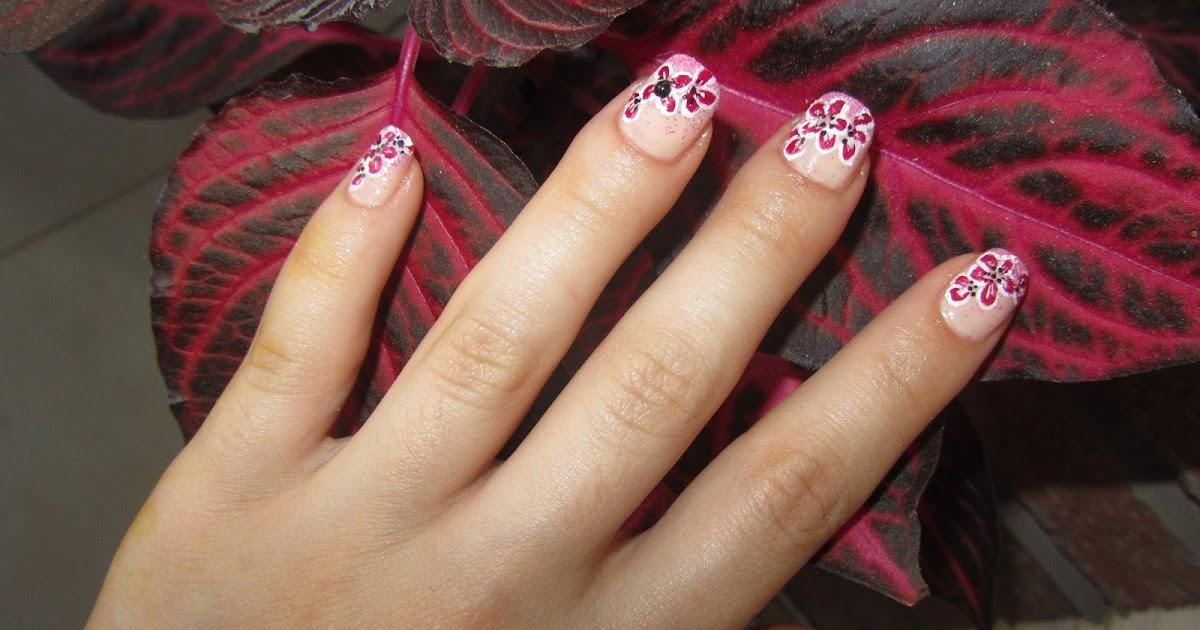 Decoración de uñas con pintura acrílica | VeryNailsArt ...