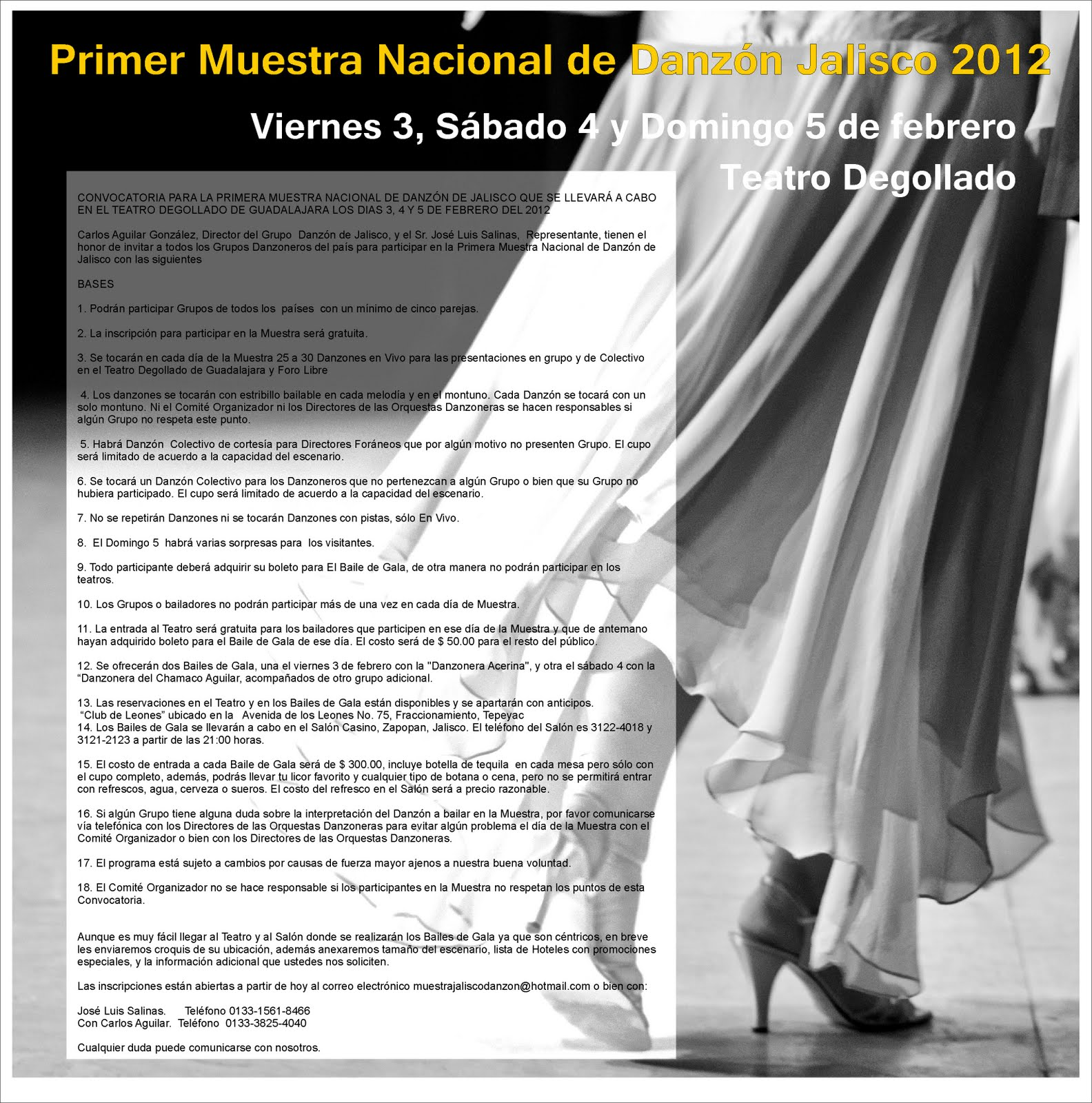 El Danzón En México 2011