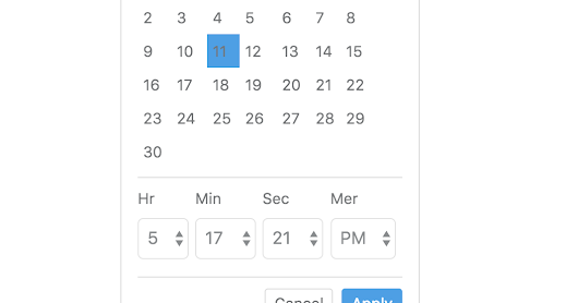 React-Bootstrap-Date-Time-Picker: Date Time Picker With ReactJS