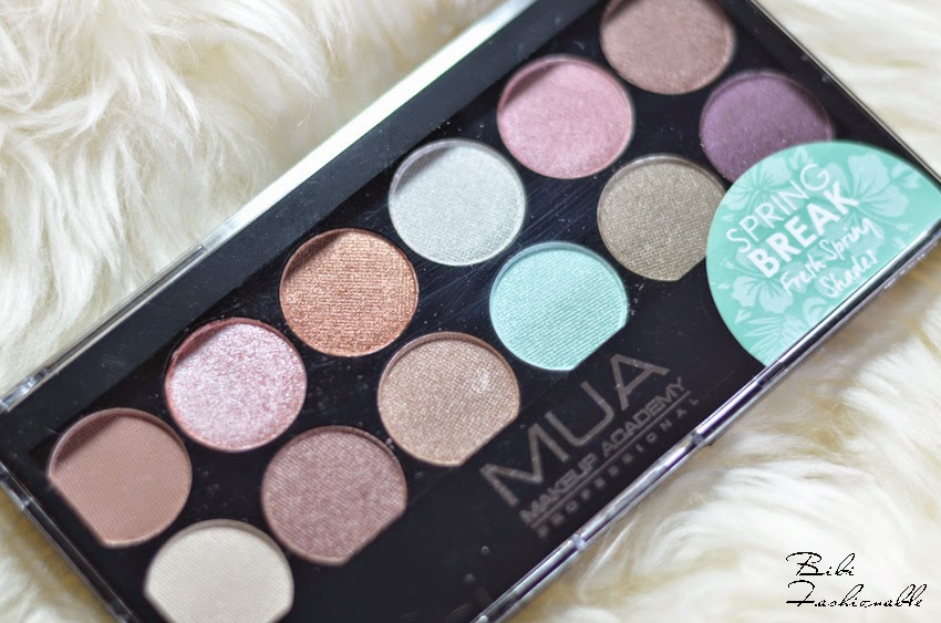 MUA Haul Spring Break Palette