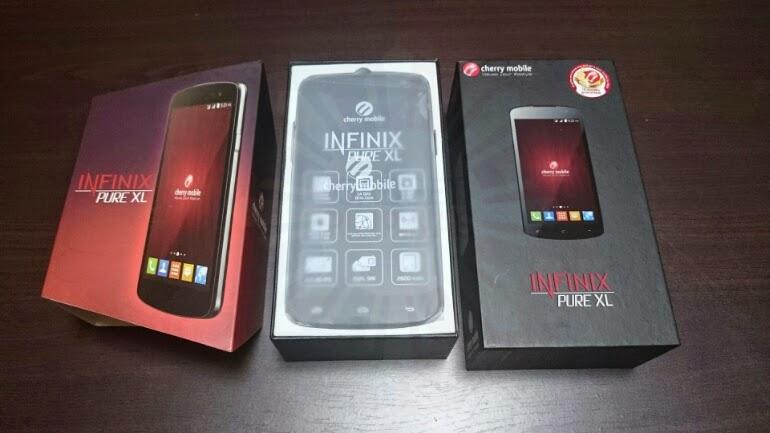 Cherry Mobile Infinix Pure XL