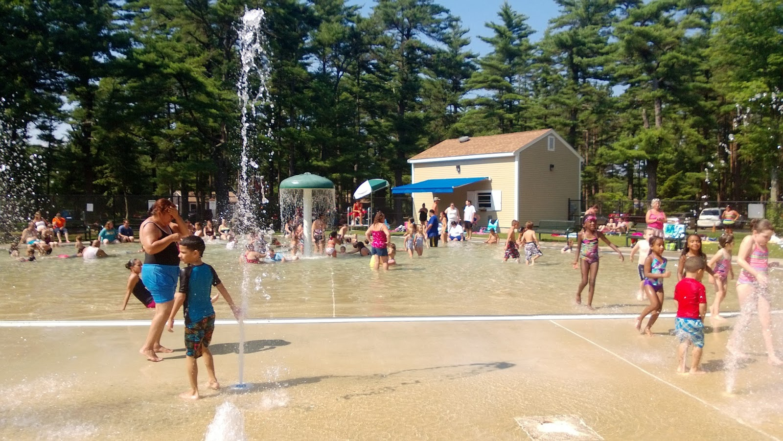 The Busy Giffs Assonet Freetown State Park Splash Pad