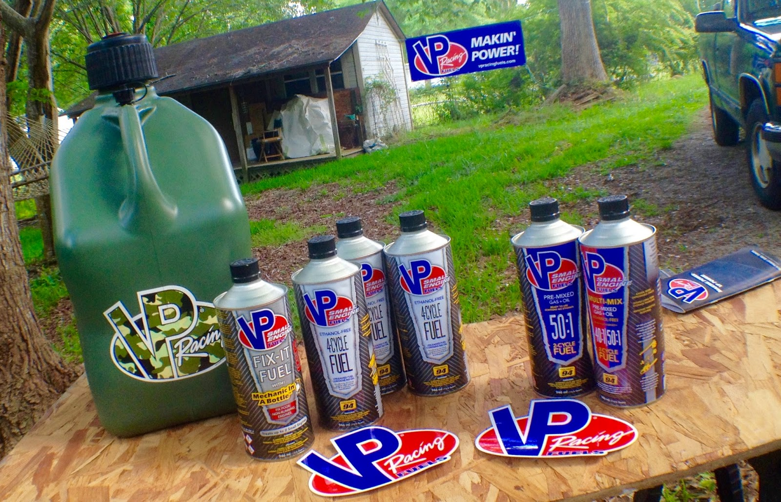 Prepper Product Reviews: VP Small Engine Fuel in for the Long Haul