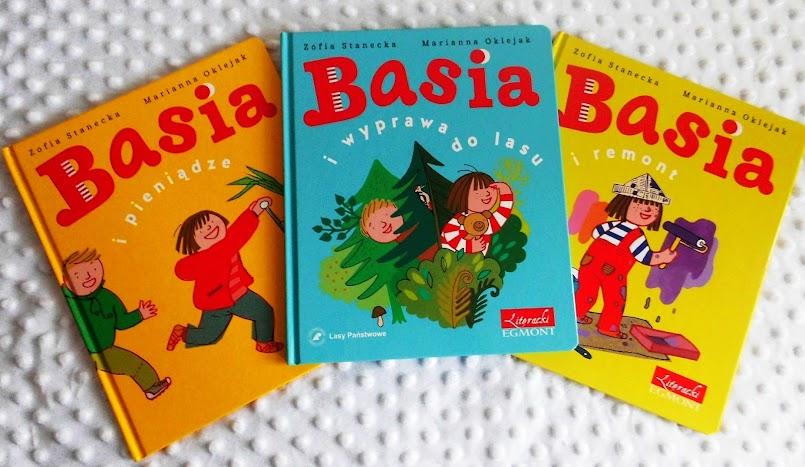 Basia i pieniądze, Basia i wyprawa do lasu, Basia i remont - Zofia Stanecka