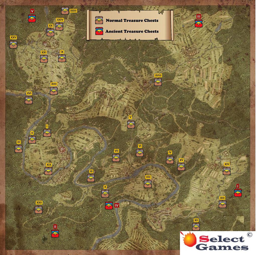 Карта всех сокровищ