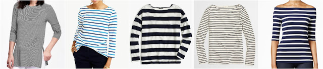 Long & Lean Ribbed Tunic Tee for Women • Old Navy • $12 (reg $17) Boatneck T-shirt in multicolor stripe • $30 (reg $40) - extra 30% off with code GETSHOPPING, ends 6/6 Deck-striped T-shirt • J.Crew • $35 (reg $50) - extra 30% off with code GETSHOPPING, ends 6/6 Factory long-sleeve striped boatneck T-shirt • J.Crew Factory • $35 (reg $50) Striped Off-The-Shoulder Top • INC International Concepts • $39 (reg $50) - extra 20% off with code SUMMER, ends 6/8