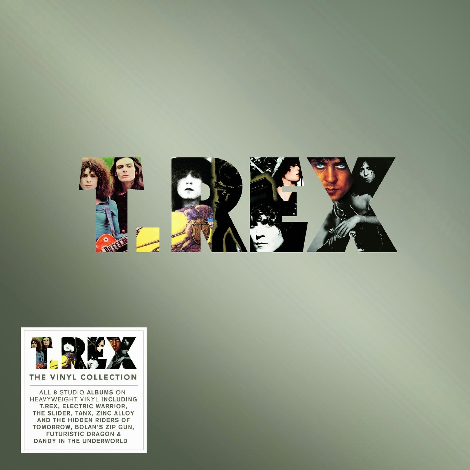 T Rex First Eight Albums Being Assembled In Vinyl And Cd