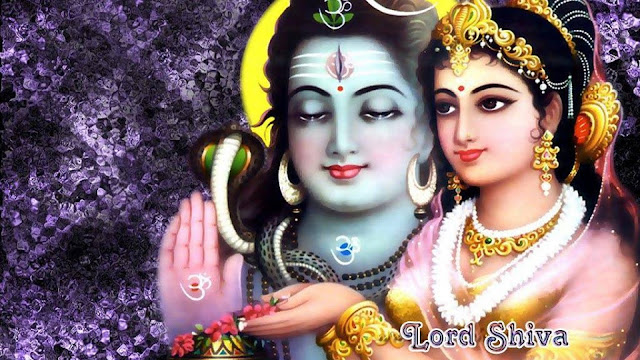 Best Lord Shiva & Parvati Face  Wallpaper