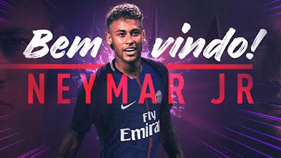 Bintang Brasil ini telah menandatangani kontrak lima tahun bersama PSG dan menjadi pemain termahal sejagad