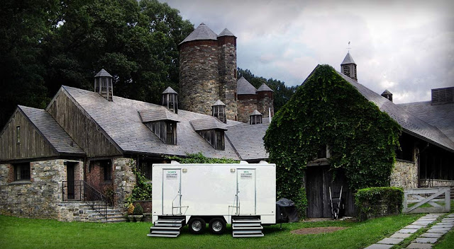 Portable Restroom Trailers | the Westchester trailer by Callahead