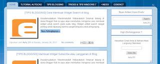 Cara Cepat Mengatur Jarak Antar Widget Pada Blog