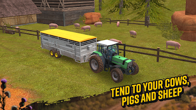 Download Farming Simulator 18 v1.0.0 Mod Apk Unlimited Money Update Terbaru
