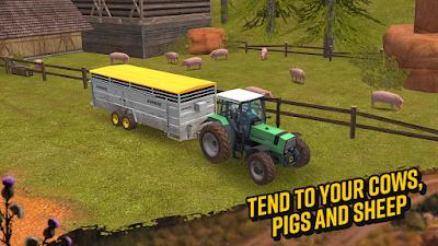 Download Farming Simulator 18 v1.0.0 Mod Apk Unlimited Money Update Terbaru