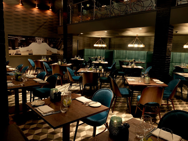 interior of marco pierre white steakhouse liverpool