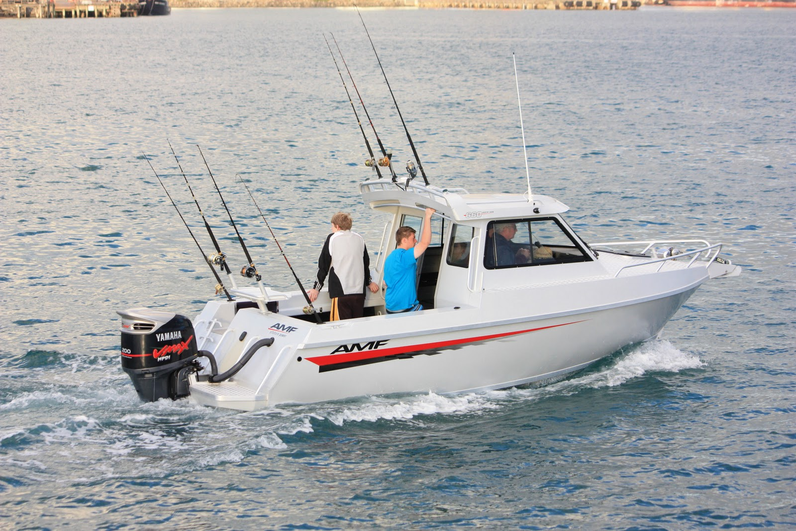 AMF Boats - Alloy Boat Builders: AMF 950 QRV Rescue Craft