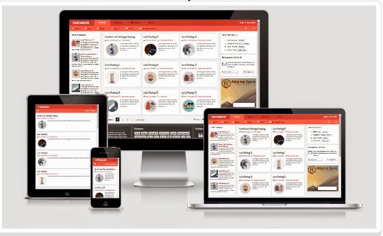 Template HTML5 Pertamax Red