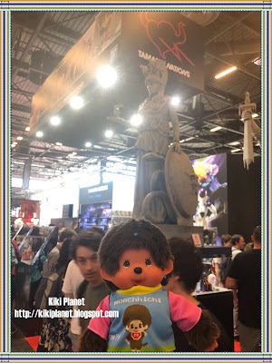 monchhichi kiki japan expo 2018 cosplayer saint seia athena