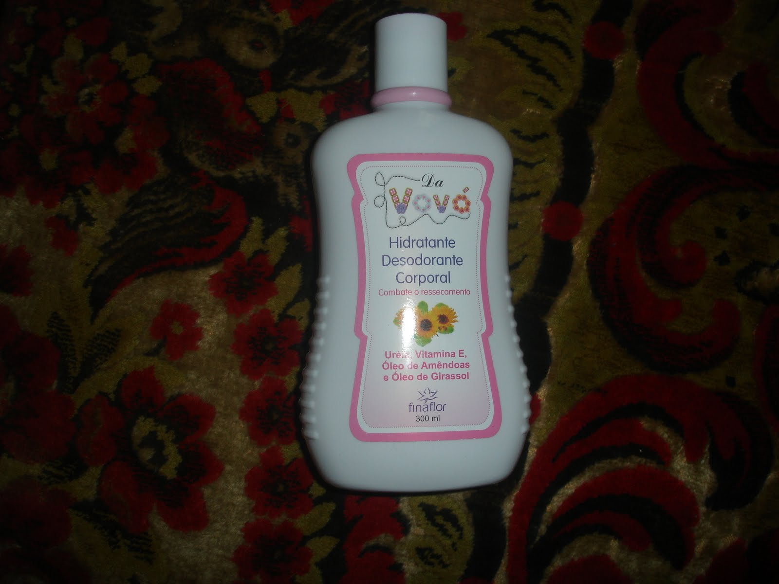 Body moisturizer I found in a drugstore. I heard about it from a