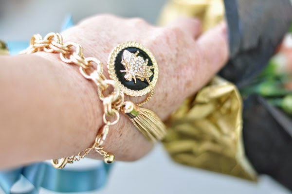 Forever21 Gold Bracelets Beauty by SW Style Blog