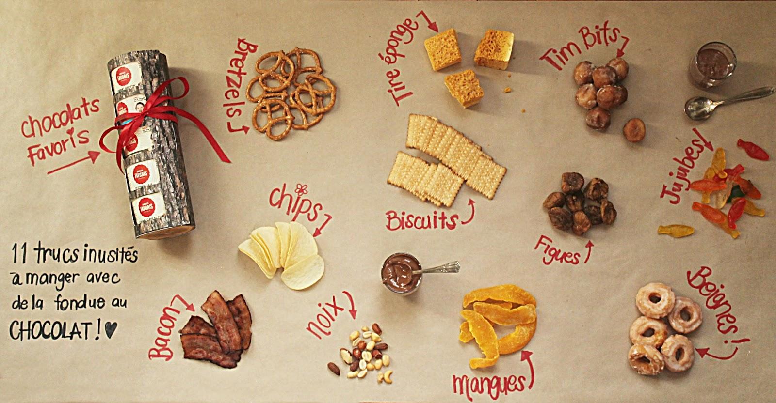 Pour Tremper Dans La Fondue Je Vous Propose 11 Trucs Inusités Auxquels N Auriez Jamais Pensé Manger Avec Votre Chocolats Favoris