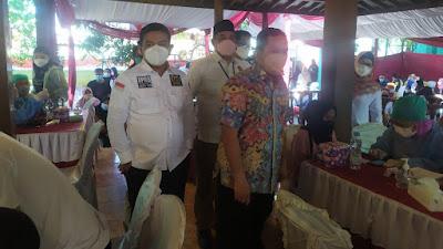 Sambut HUT RI ke 76 Partai Gerindra DPC Kota Tangerang adakan Vaksinasi Massal di 6 Dapil
