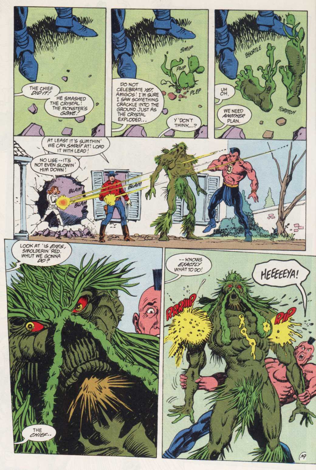 Swamp Thing (1982) Issue #85 #93 - English 19