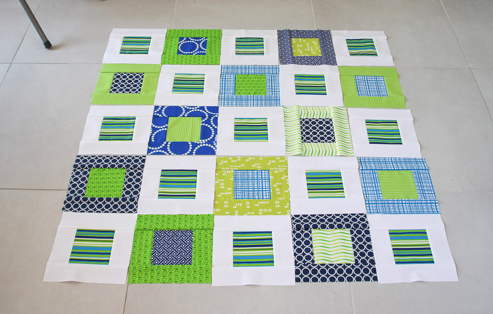 Modern baby boy quilts