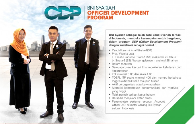 Lowongan Kerja Loker Bni Syariah 2021 2022 Pendaftaran Net 2021 2022
