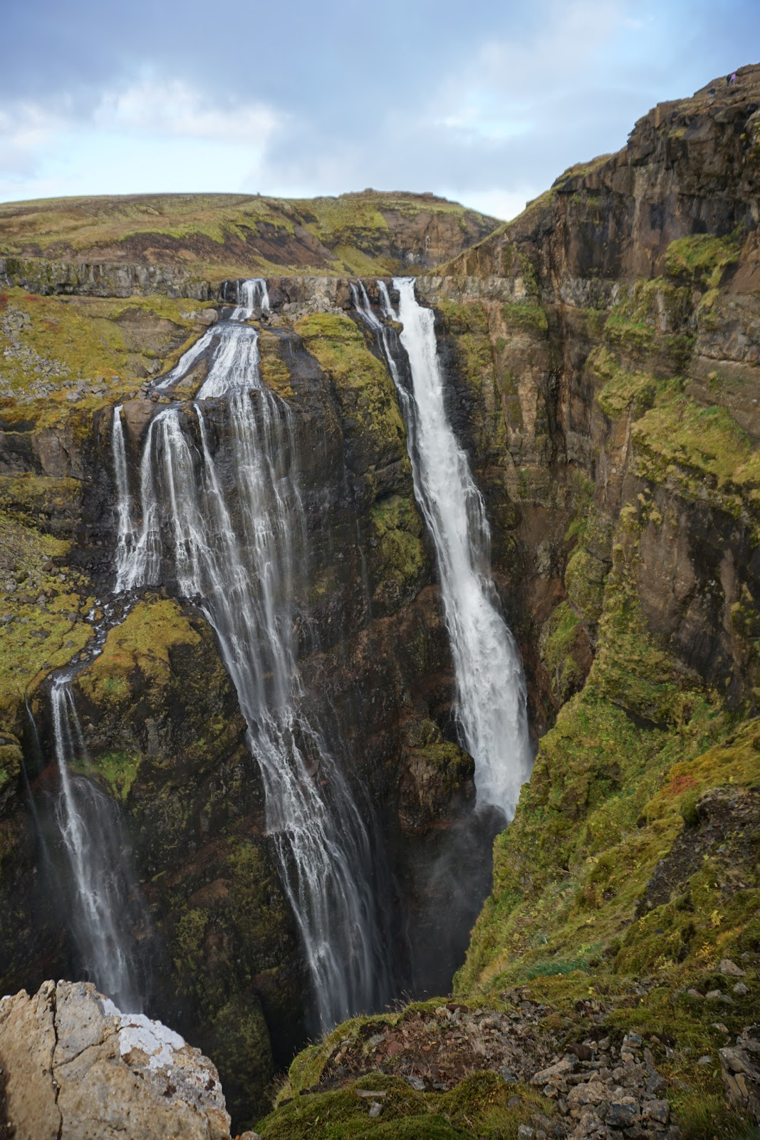Fall Wallpaper Road Hiking To Glymur Iceland S Second Tallest Waterfall