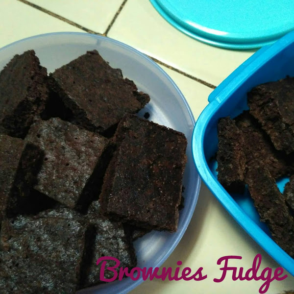 Resep Brownies Fudge