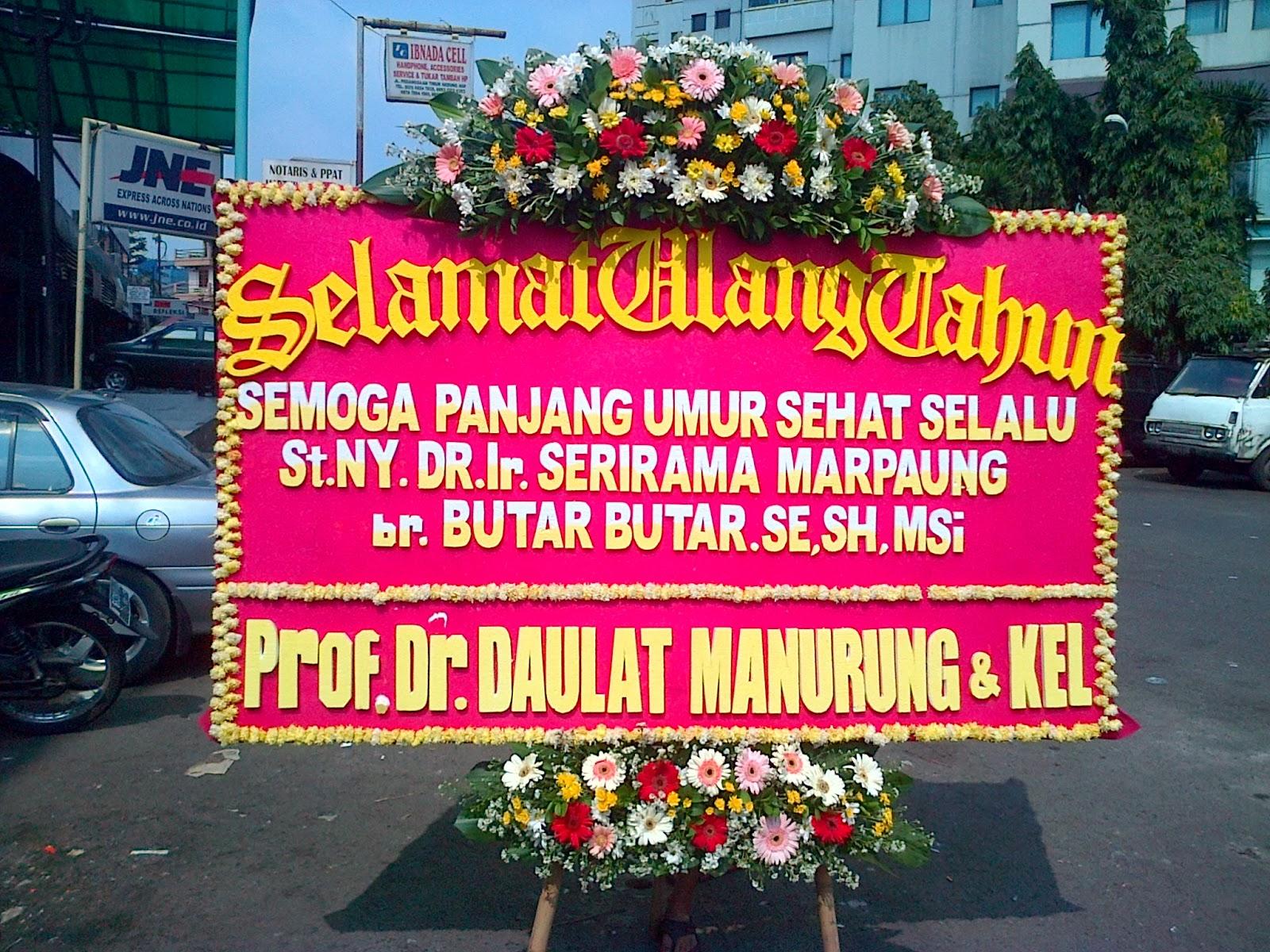 Toko Bunga Cikiniflorist Jakarta Contoh Produksi Bunga Papan