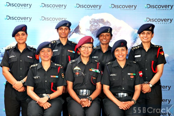 lady officers in Indian army