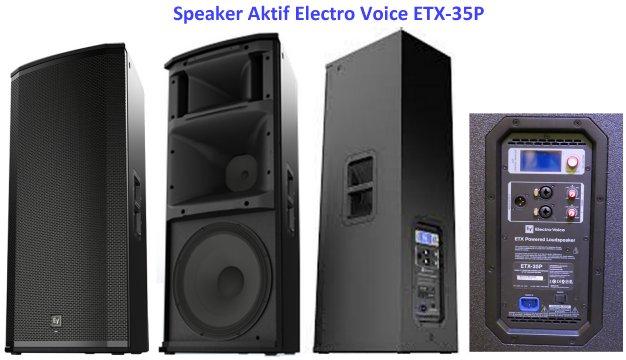 Harga Speaker EV ETX-35P