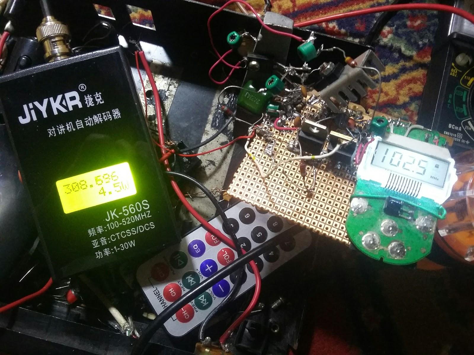 KSF ELECTRONICS: FM Transmitter circuit