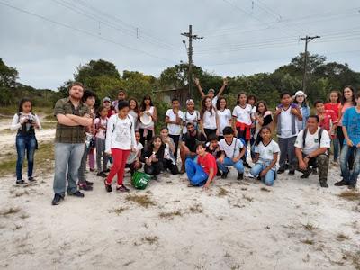 Alunos dos 6ºs anos da Escola Yolanda realizam estudo do meio em Manguezal