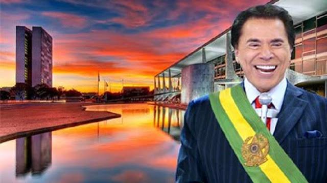 Silvio Santos poderá se candidatar a Presidente em 2018