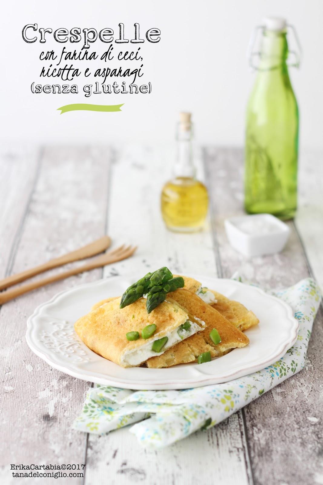 Ricetta crepes salate farina di ceci