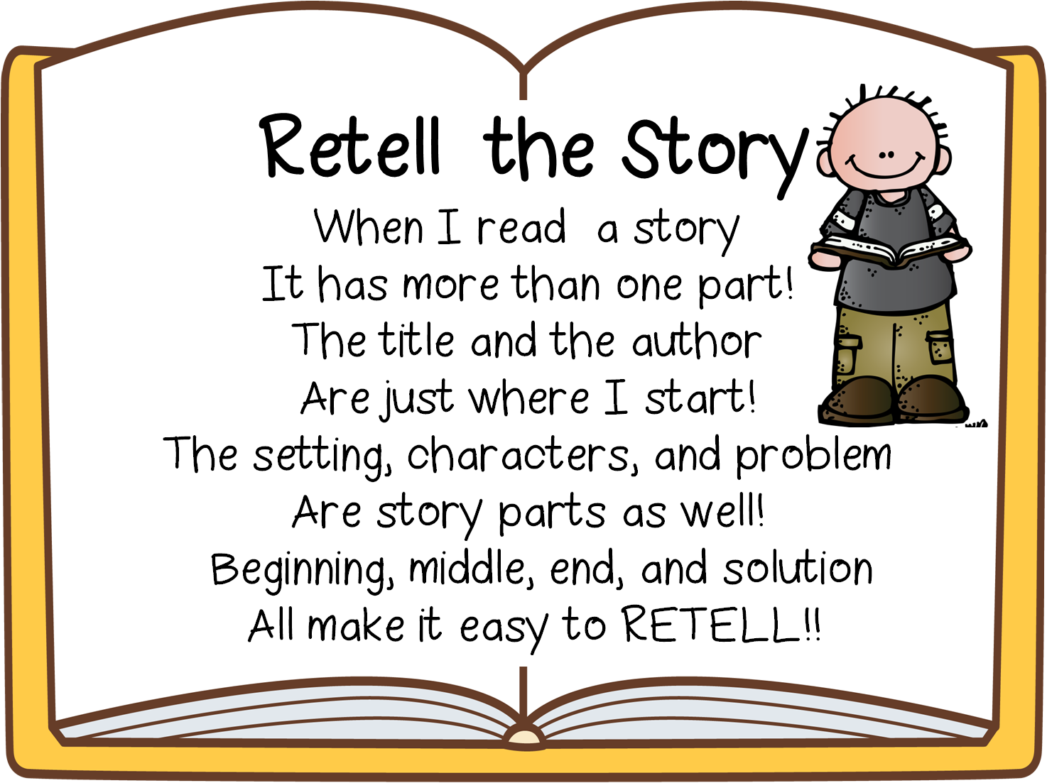 First Grade Wow Retelling Fiction And Nonfiction