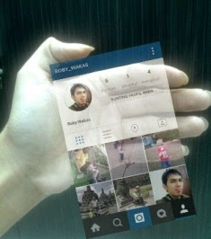 Membuat Instagram In Hand