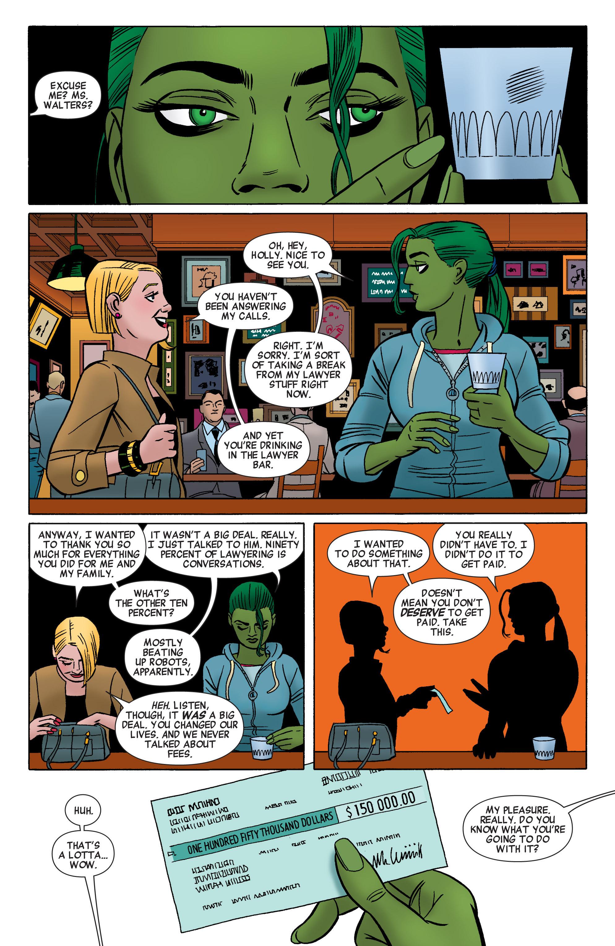 Read online She-Hulk (2014) comic -  Issue #1 - 19