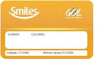 Cartão de pontuação Smile