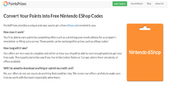 free eshop codes no survey or download