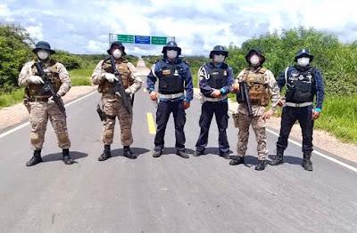 Justiça autoriza o Ceará usar barreira policial em estradas e aeroportos para controle sanitário
