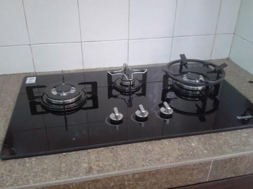 Dapur Gas Kaca Terbaik Desainrumahid