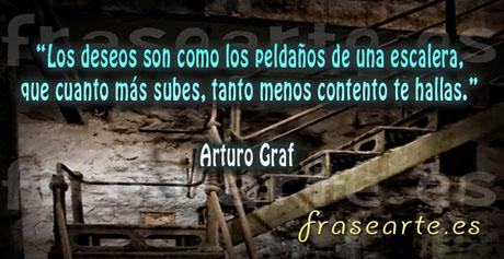 Frases de deseos en la vida, Arturo Graf