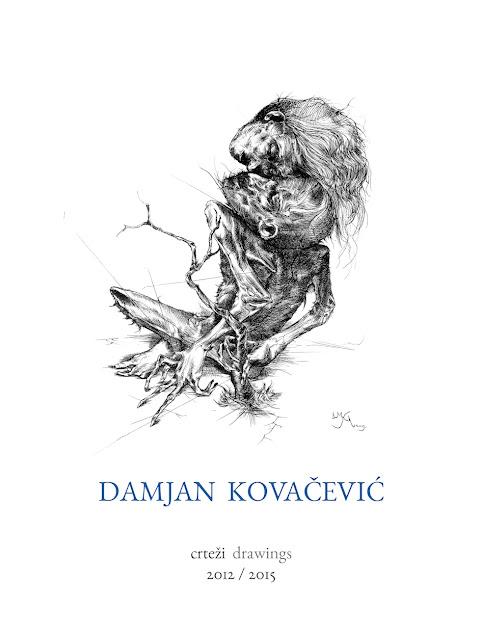 """Otvaranje izložbe Damjana Kovačevića """"Crteži 2012 - 2015"""""""